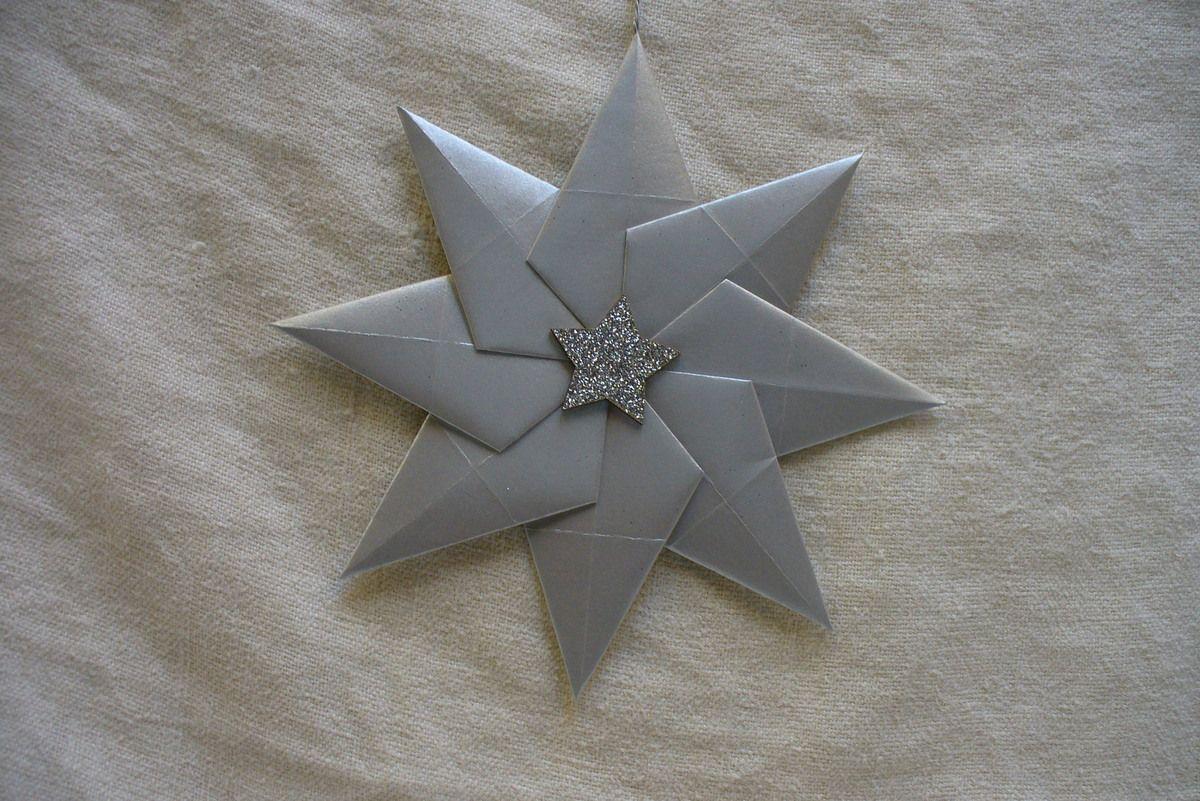 une étoile pour la déco du sapin