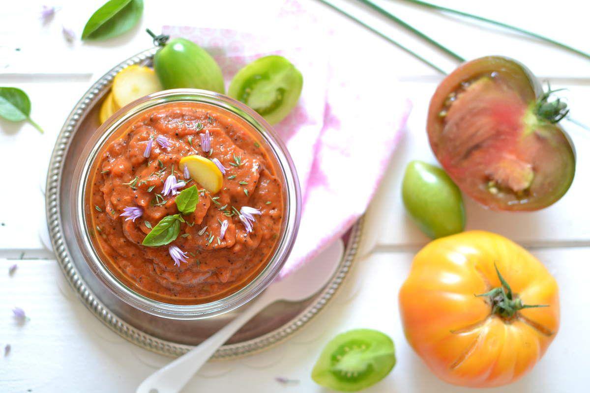 Dip gourmand tomate ~ poivron