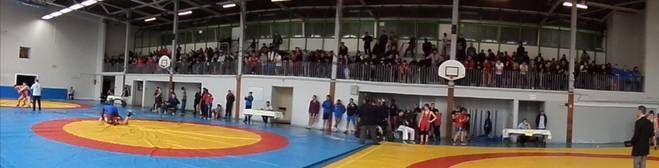 Retour sur le Championnat de lutte d'Ile de France à Aulnay-sous-Bois le 14 février 2015