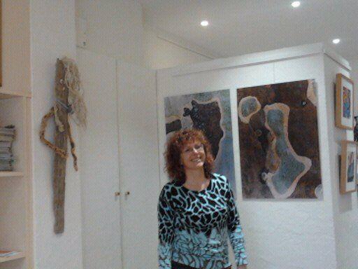 Vernissage de l'exposition de Corinne Cesaratto à Aulnay-sous-Bois
