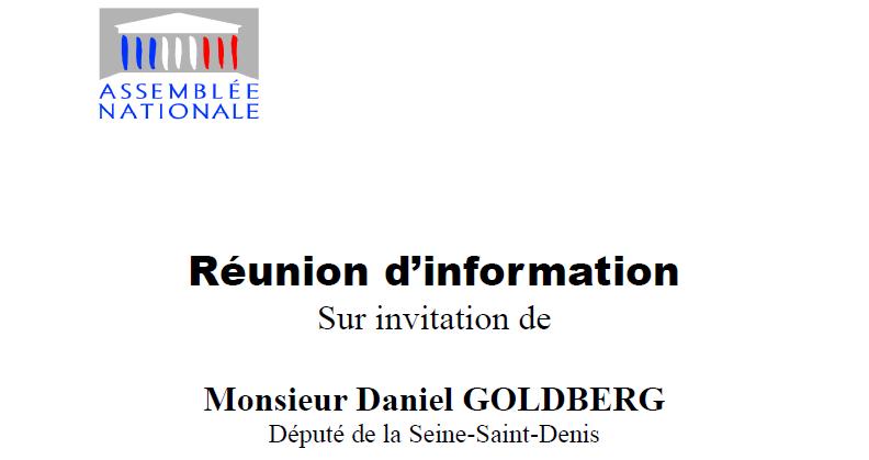 Réunion d'information sur les conséquences de l'état d'urgence à Aulnay-sous-Bois