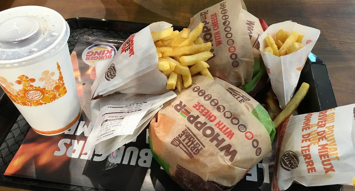 C'est la folie au Burger King à Aulnay-sous-Bois !