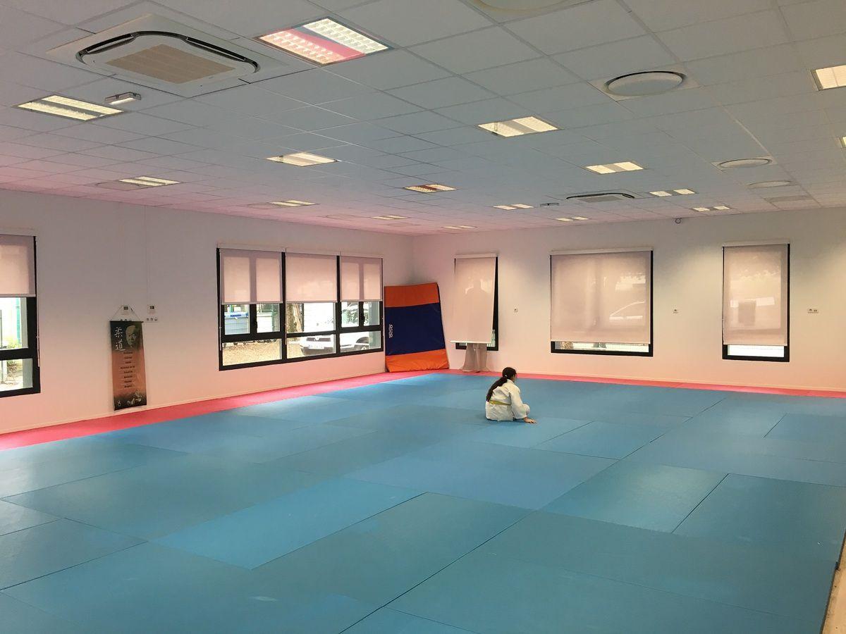 Nouveau dojo pour le club de judo du Dragon d'Or à Aulnay-sous-Bois