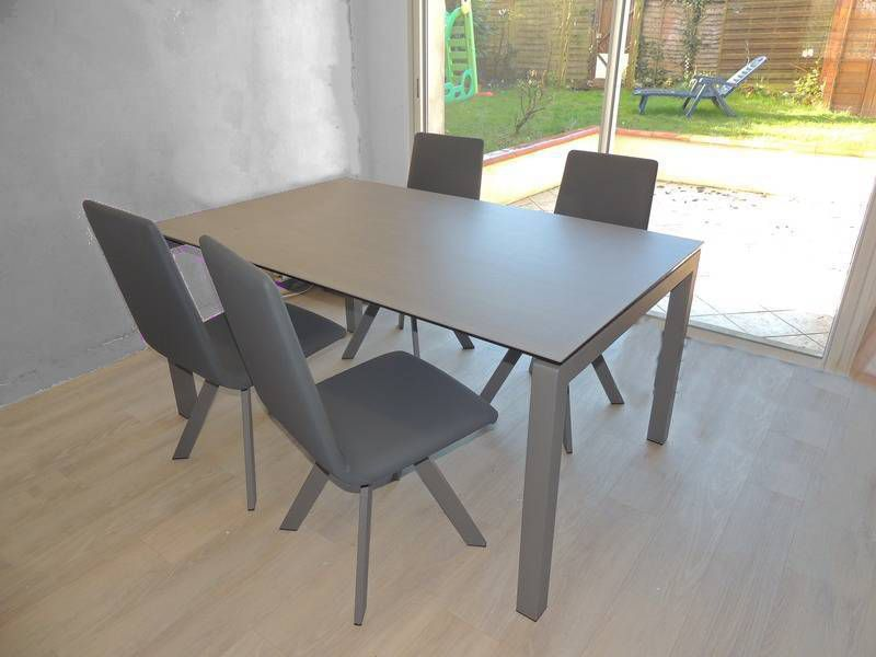 Table ceramique julia exodia home design tables for Table d exterieur avec rallonge