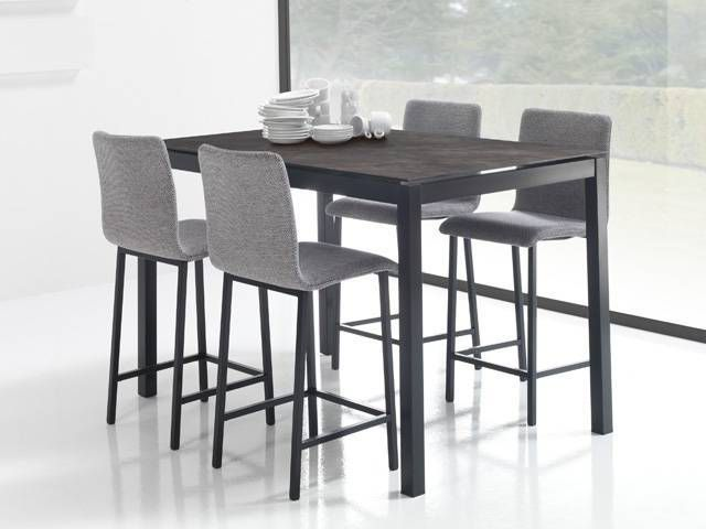 Table ceramique altea exodia home design tables - Table haute cuisine design ...