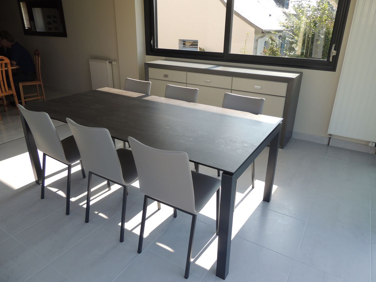 Album tables ceramique extensible exodia home design for Table salle a manger en ceramique