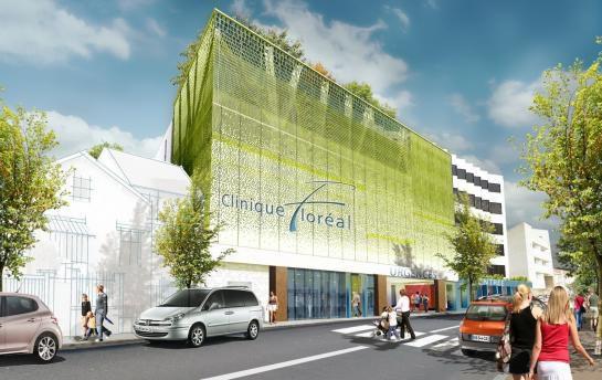 Photo : le projet de nouveau bâtiment rue Floréal à Bagnolet (Cabinet d'architecte Blezat)