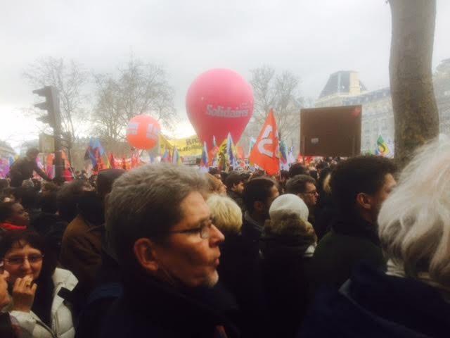 De retour de la manifestation du 9 mars contre le charcutage du code du travail