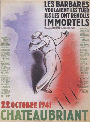 Les fusillés de Châteaubriant et l'entrée en résistance officielle du pcf, polémique historique