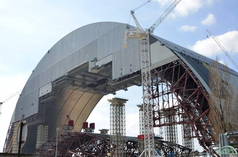 Tchernobyl: un sarcophage à 2,1 milliards d'euros