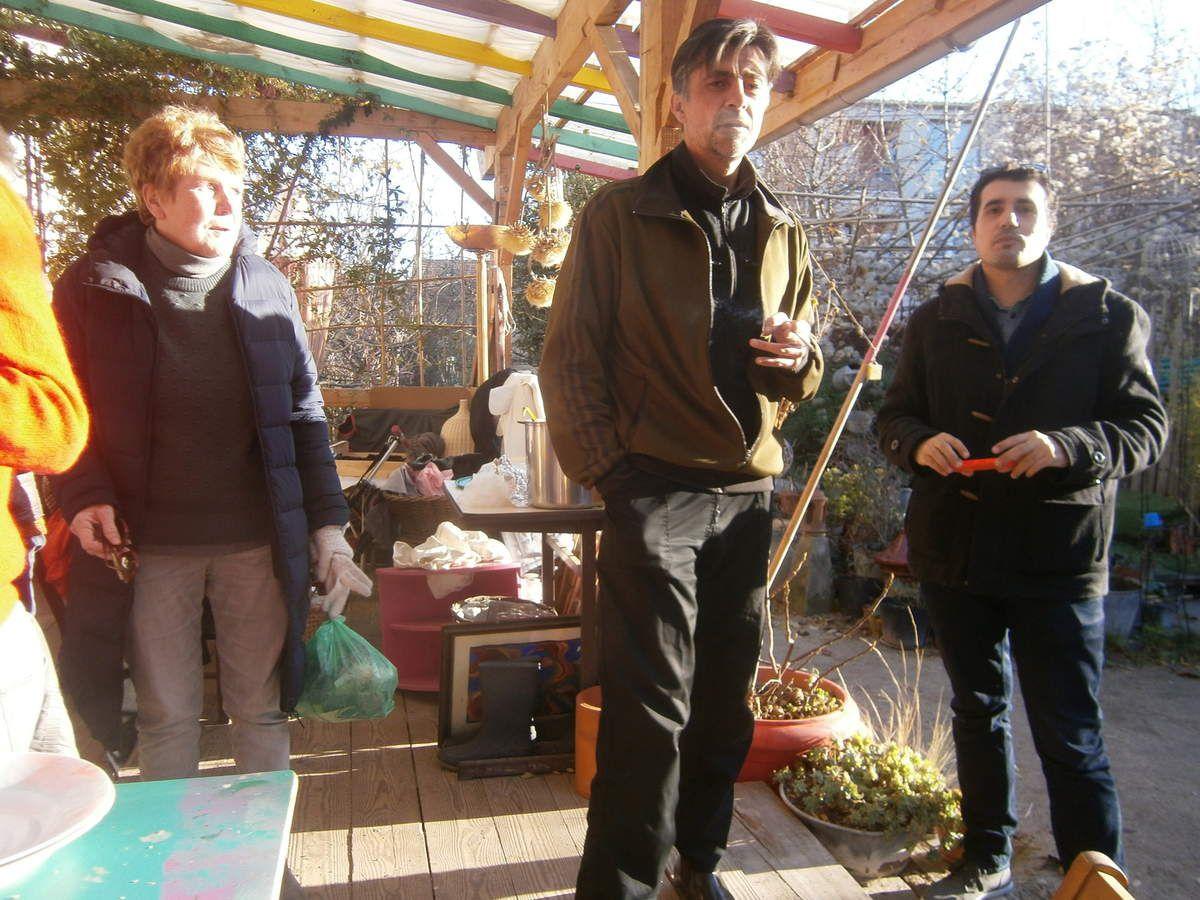 Au jardin guinguette ce 3 décembre