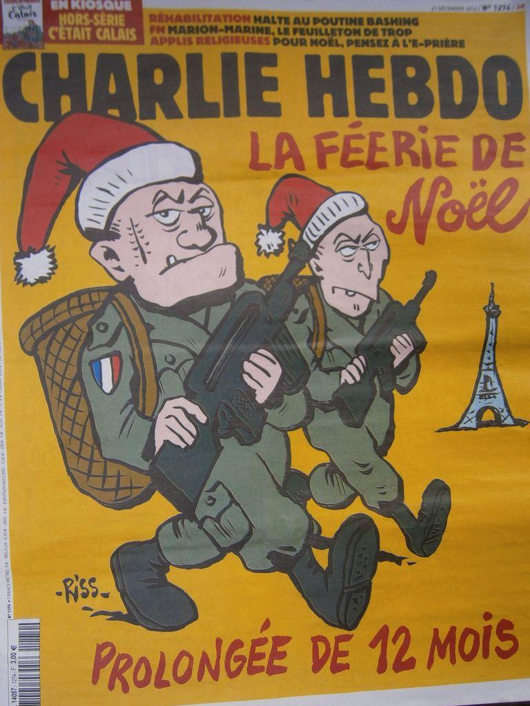 Charlie du 21 décembre aime le père Noël