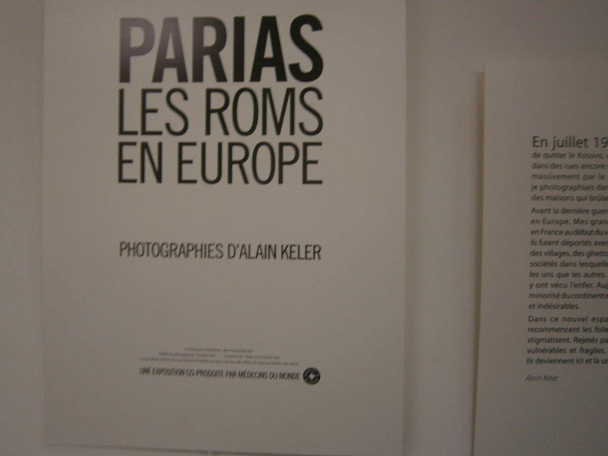 """A l'expo Alain Keler-Médecins du monde, dans """"la salle des pas perdus"""""""