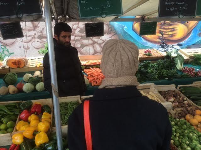 Le marché du centre ville, rue Raoul Berton-2