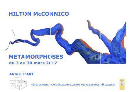 Hilton Mc Connico à Angle d'Art en mars