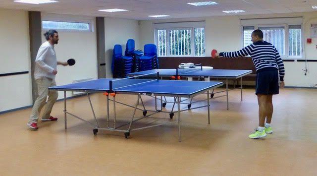 À la maison de quartier de la Dhuys, l'activité ping pong cartonne