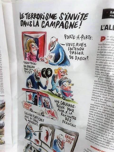 Le Charlie du 26 avril 2017