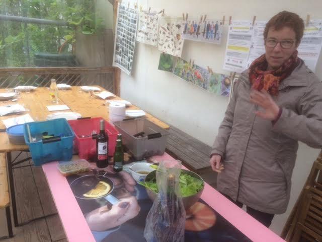 Au jardin Guinguette ce 6 mai 2017