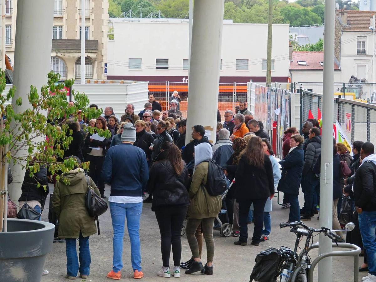 La fin de la grève des communaux bagnoletais dans Le Parisien