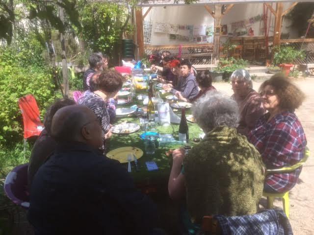 Au jardin guinguette de la Dhuys ce samedi 13 mai