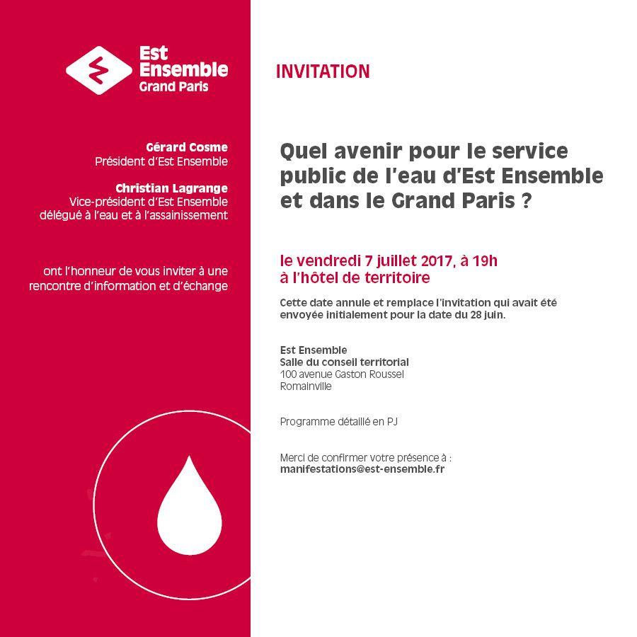 Vers la gestion publique de l'eau à Bagnolet ?