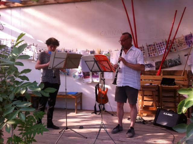Musique au Jardin guinguette de la Dhuys