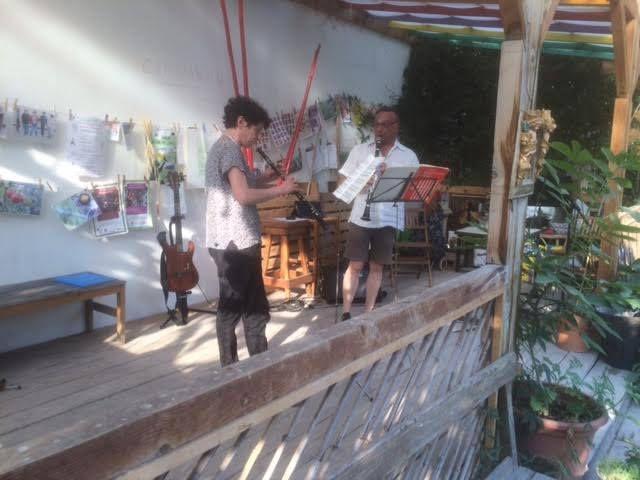 Re-fête de la musique au Jardin Guinguette de la Dhuys