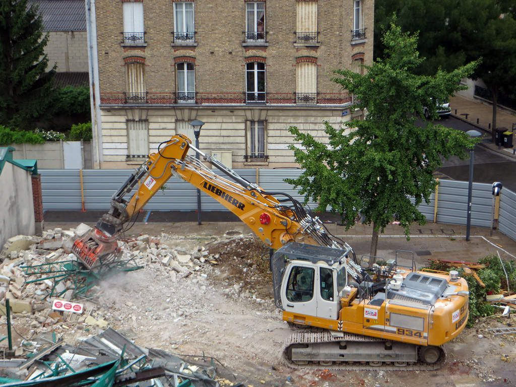 Sur la destruction de la halle du marché de Romainville