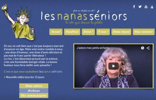 Lesnanasseniors.com : site fun et décalé