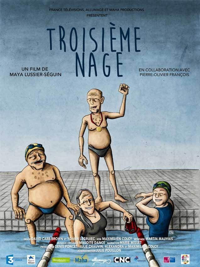 Troisième Nage : le grand âge et la nage (doc TV )