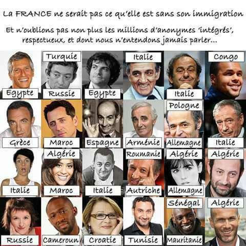 LA FRANCE AUTHENTIQUE ET DYNAMIQUE AU-DELA DU RACISME ET DU NATIONALISME SOURCE DE GUERRE ET DE HAINE