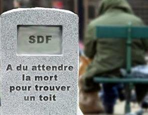7000 SDF SONT MORTS EN FRANCE