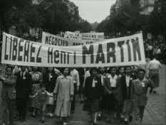 MORT D'UN COMMUNISTE PIONNIER DE L'ANTICAPITALISME, HENRI MARTIN (PIERRE BROCHEUX) - REEDITION