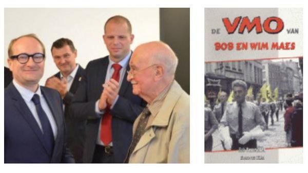 Theo Francken et Bob Maes qui s'illustra lors du dernier conflit mondiat par une collaboration condamnable avec les nazis.