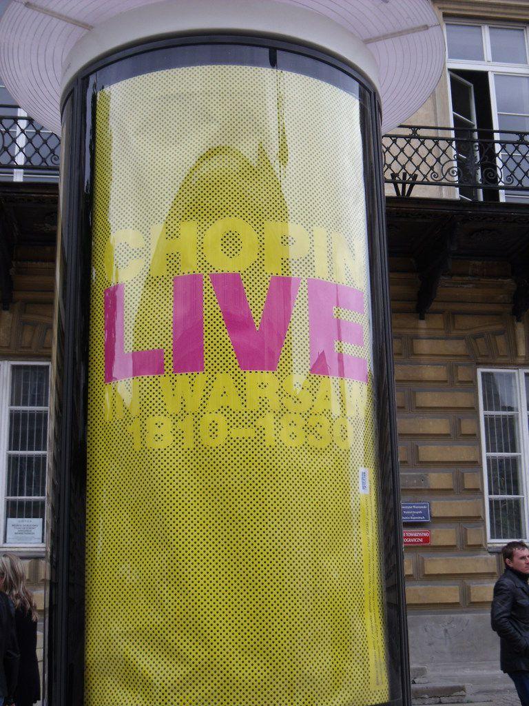 Visitez Chopin à Varsovie !