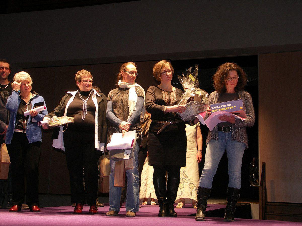 Photos de la remise des prix