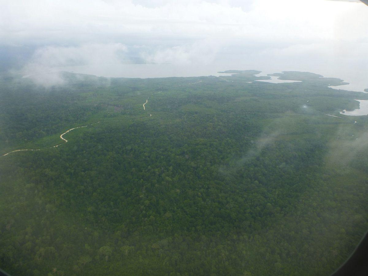 Descente vers Saumlaki (Yamdena)