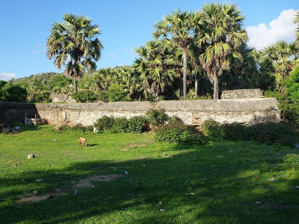 Au port de Wonreli, 2 km à l'ouest de la ville, le fort Vollen Hafen, construit par la VOC à partir de 1668, bien plus vaste que le précédent. Seul subsiste en grande partie le mur d'enceinte mais celui-ci continue à se dégrader faute d'entretien (chute récente d'un escalier, me dit-on).