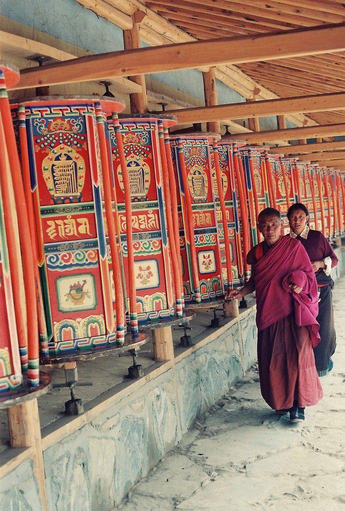 Au monastère de Labrang
