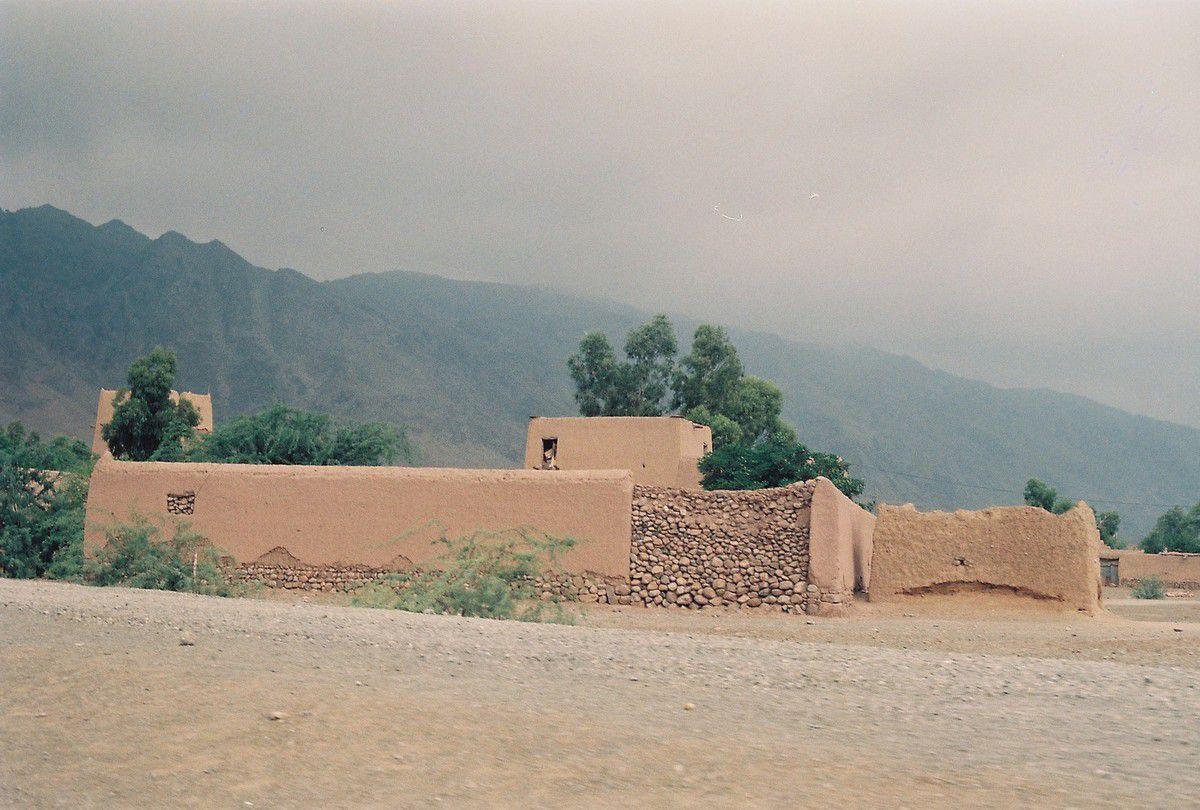 En zone tribale, au nord-ouest de Peshawar (Province frontière du nord-ouest)