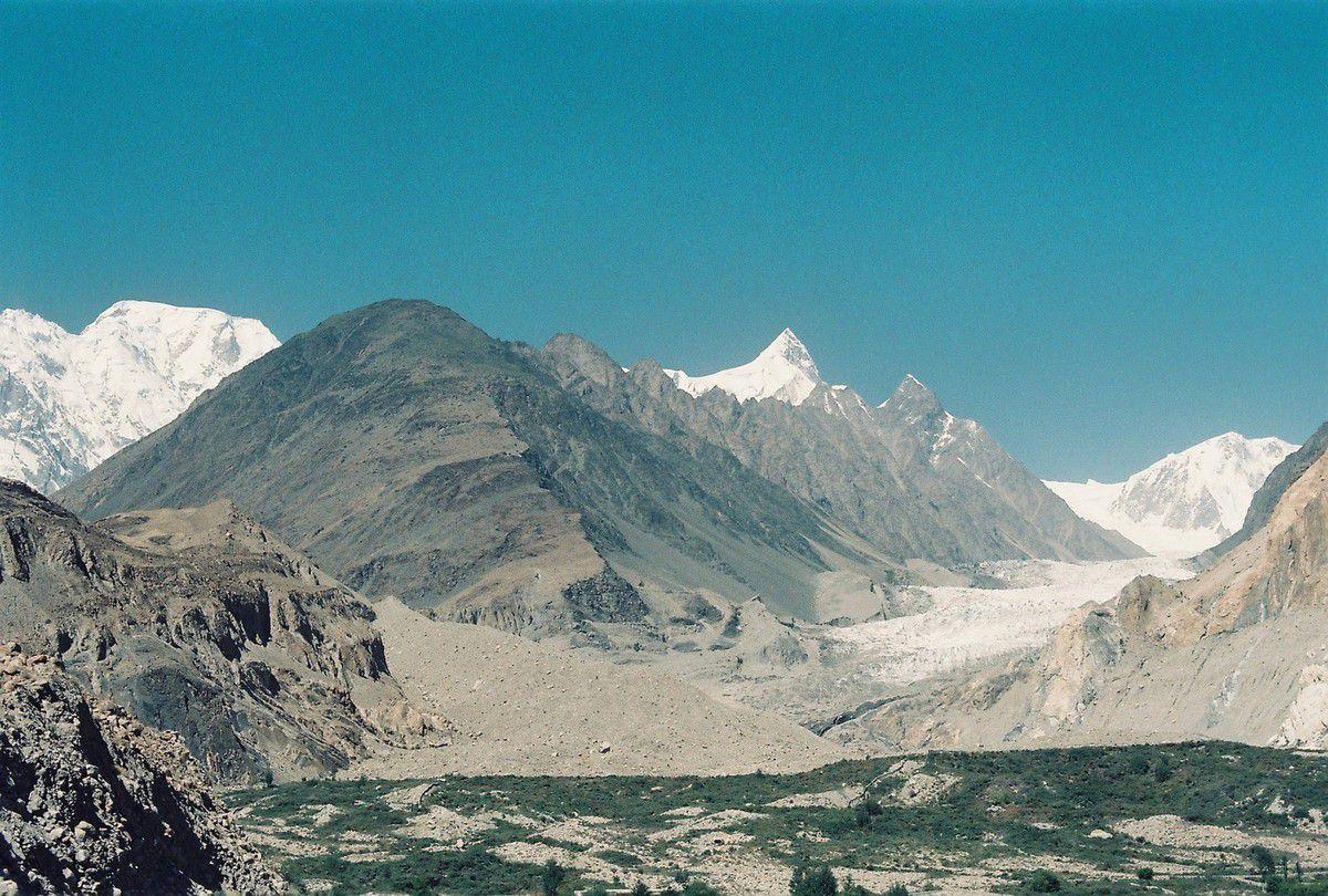 Le glacier de Passu