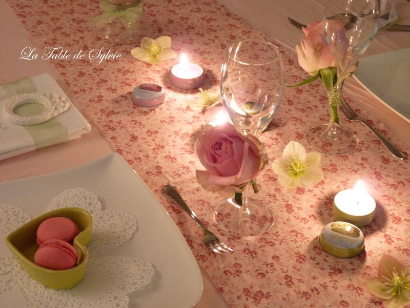 tables Ladurée - 1er volet