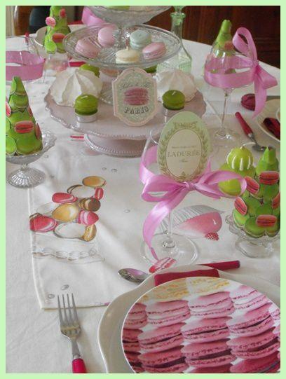 Tables aux couleurs Ladurée - volet 2