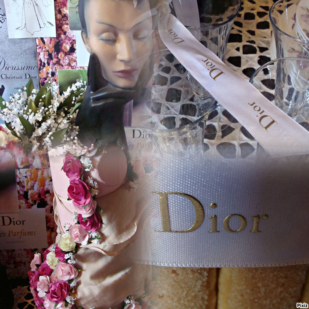 TABLE AMBIANCE CHRISTIAN DIOR