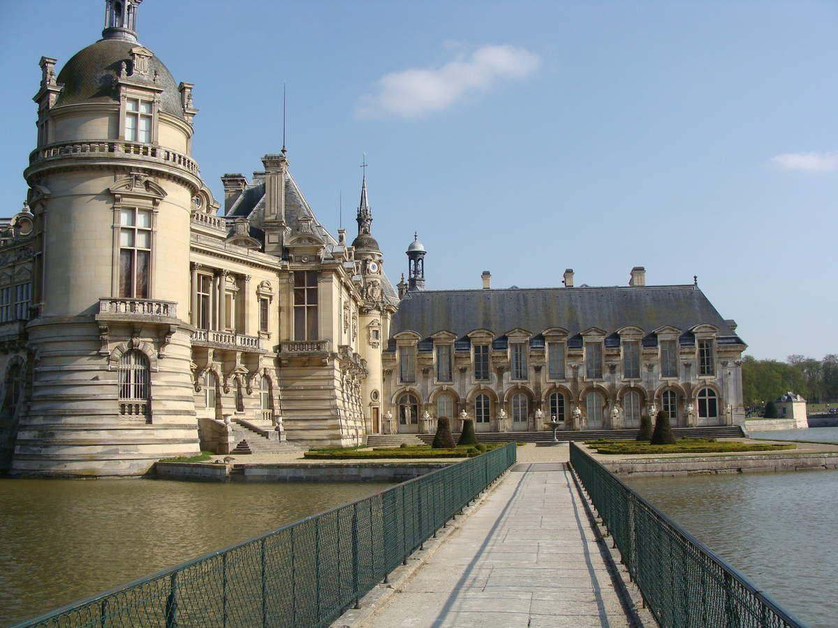 Promenade dans le parc du château de Chantilly