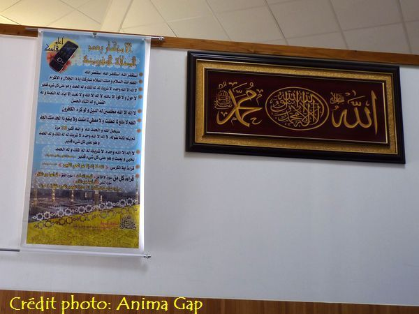 La mosquée de Gap