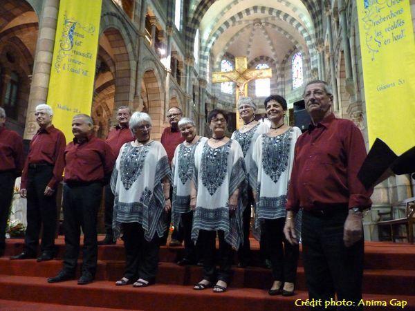 Festival des chorales 2015 à Gap