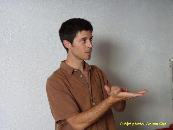 Nicolas, l'un des membres fondateurs, a assuré plusieurs visites commentées