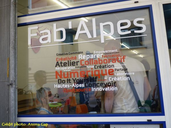 Inauguration du Fab'Alpes à Gap