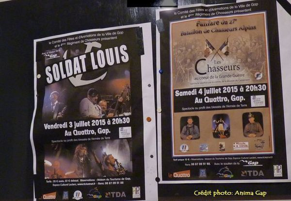 Soldat Louis rock celtique à Gap